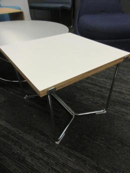 Harter Forum by Izzy+ White End Table