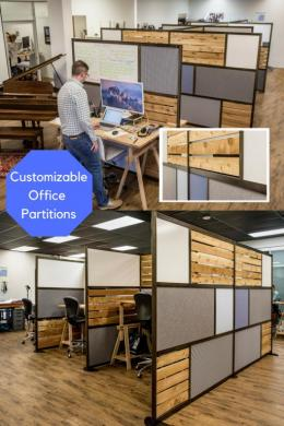 New Office Partitions Customizable