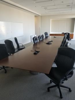 24x6 Mahogany Conference Table