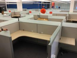 Allsteel Stride 8x6 Cubicles w/Glass!