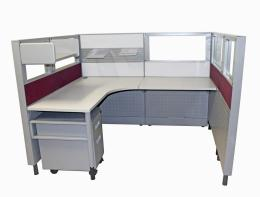 6 x 5 Mid-height Tremain Complete Cubicles