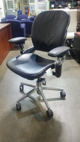 Used Steelcase Vinyl Leap Chair