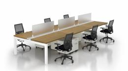 New Lacasse Cite Benching Workstations