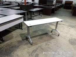 Used Traing Tables with Wheels