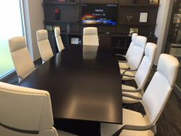 10 foot Conference Table & Conference Chairs