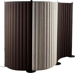 Acoustical Bendable Divider Panels