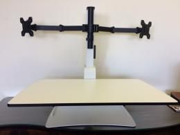 E-DOC-II Sit/Stand Table Top Unit