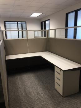 New Office Cubicles with Glass