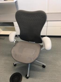 Herman Miller Mirra 2 task chairs
