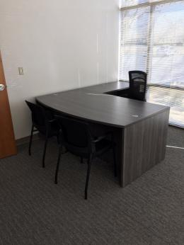 New Bow Front Desks