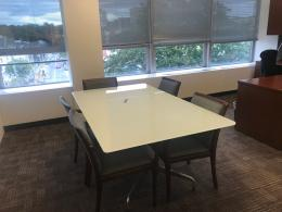 Herman Miller Eames Glass Conference Table