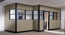Floor to Ceiling New Office Workstations