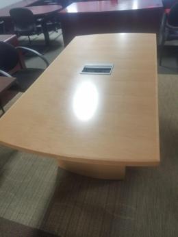 New Maple Gunlocke 10' Conference table