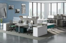 New Desking and Benching Stations