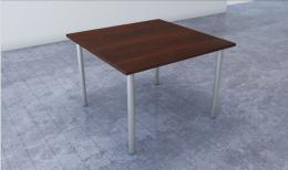 IOF Square Table w/ Post Legs