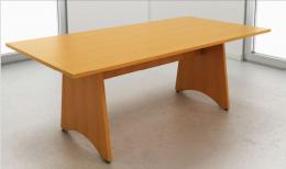 IOF Retangular /  Panel Base Boardroom Table