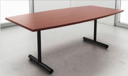 IOF Boat Shaped Inverted Tubular Leg Table