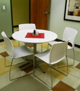 Breakroom Tables and  With Chairs
