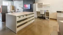 Modern Laboratory - workspace and storage