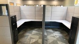 Herman Miller Ethospace Cubicle with Tower