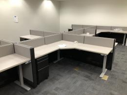 Herman Miller Cubicle Short 6 x 6