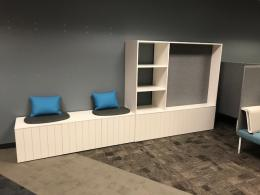 Herman Miller Storage Credenza with Seating