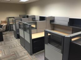 modern drop down ethospace cubicles