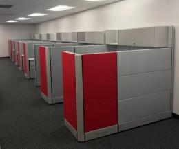 herman miller ethospace dropdown 6x6 cubicles