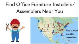 Find Office Furniture Assemblers Installers
