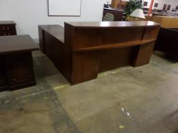 Used 8' Wide Reception Desk