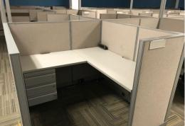 5x5 Haworth Unigroup Too Workstations