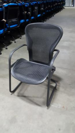 Herman Miller Aeron B Side sled- Carbon