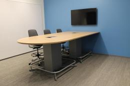 Counter Height Conference Table Bullet Shape