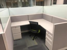 Cubicles with Frameless Glass