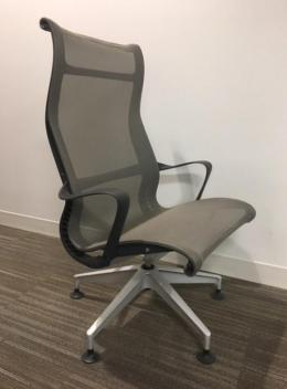 Used Herman Miller Setu Lounge Chair