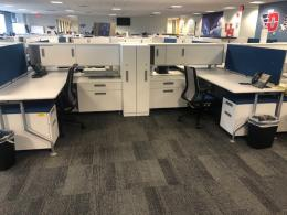 Used Steelcase C:Scape Workstations