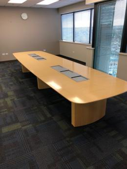 Gunlocke Converge 16' Conference Table