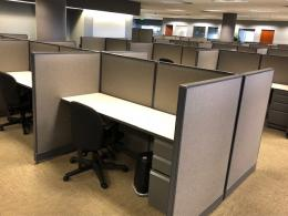 Pre-Owned Haworth Unigroup 6x3 Workstations