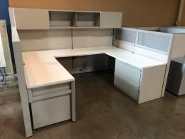 8' x 6' Knoll Dividends Workstation