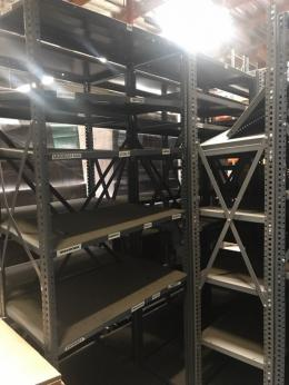Industrial Steel Shelves