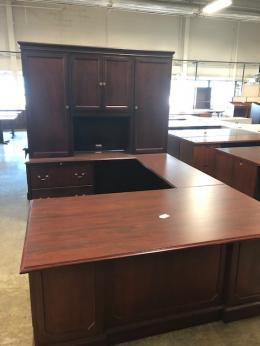 JOFCO  -  U Shape Desk with Hutch