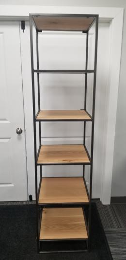 Industrial 72h narrow bookcases - new!