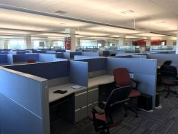 TEKNION LEVERAGE CALL CENTER STATIONS