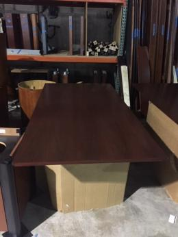 6' Wood Rectangle Conference Table