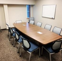 10 foot boat shaped conference table