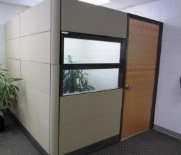 MODULAR OFFICE OR CONF ROOM WALLS