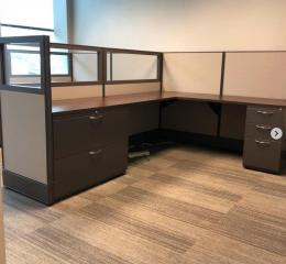 6 x 8 Cubicles with Glass