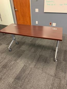 Hon 24x60 Flip Top Training Tables