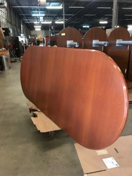 10' Cherry Racetrack conference table