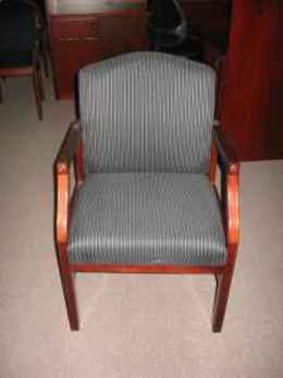 Lesro Wood Side Guest Chairs